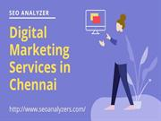 Digital Marketing Company in Chennai - SEO Analyzer