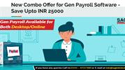 Let's Find Out About New Combo Offer For Gen Payroll Software