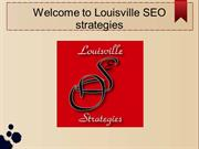 Louisville SEO strategies best company in Louisville, ky