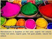 organic holi colors & natural holi colours Safe for Skin
