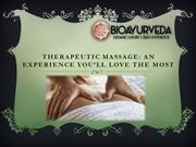 Herbal Therapeutic Massage Products
