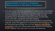 Characteristic to Look in a Company Offering Sketch to WordPress Conve