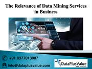 Most Substantial Advantages of Data Mining Outsourcing