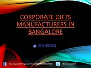Corporate Gifts Manufacturers in bangalore