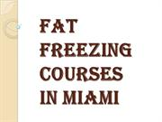 Fat Freezing Courses in Miami