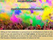 BUY HOLI COLORS AND GULAL ONLINE TO MAKE HOLI CELEBRATIONS FUN