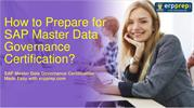 SAP Master Data Governance (C_MDG_90): Questions and Study Tips