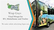 Wrap Guys Canada - Vinyl Wraps for RV, Motorhome and Trailer