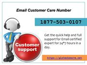 Email Customer Care Number 1877-503-0107