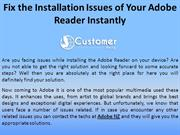 Fix the Installation Issues of Your Adobe Reader Instantly