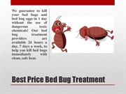 Bed bug heat treatment for hidden bed bugs