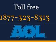 AOL tech support phone number 1877-323-8313
