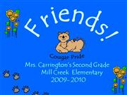 Carrington's2nd Grade 2009-2010