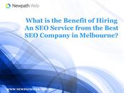 What is the Benefit of Hiring an SEO Service from the Best SEO Company