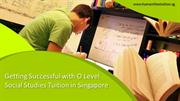 Getting fruitful with O level social studies tuition in Singapore