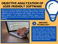 Objective Analyzation Of User-Friendly Software