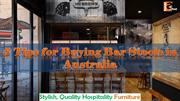 5 Tips for Buying Bar Stools in Australia