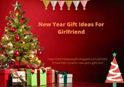 new year gift ideas for girlfriend