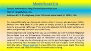 What Your Customers Really Think About Your MODEL BOAT KITS