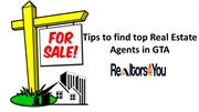 Tips to find top Real Estate Agents in GTA