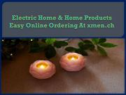 Electric Home & Home Products Easy Online Ordering At xmen