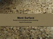 Points to be considered while choosing Quartz Countertops