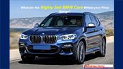 What are the Highly Sell BMW Cars Within your Price Range