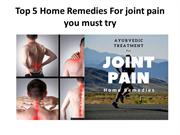 Top 5 Home Remedies For joint pain you must try