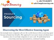 Reasons for Engaging Sourcing Agents In Dealing With Specialists