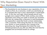 Why Reputation Goes Hand In Hand With Your Marketing