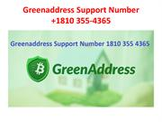 Greenaddress Support Number +1810 355-4365-converted