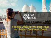Facilities Offered by the Best Travel and Tourism Company in Dubai