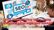 Why Should You Hire Only Professional SEO Services?