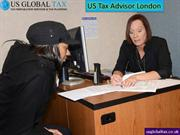 US Tax Advisor London