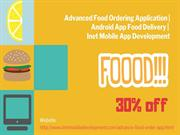 Advanced Food Ordering Application - Android App Food Delivery