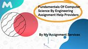 An Overview Of Computer Science Assignment Help
