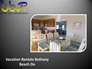 Beach House Rentals Bethany Beach
