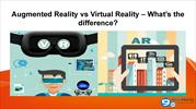 Augmented Reality vs Virtual Reality  What's the difference