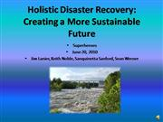 Holistic Disaster Recovery
