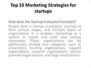 Top 10 Marketing Strategies for startups