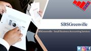 SBSGreenville - Best for Small Business Accounting Services