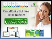 QuickBooks Toll Free Phone Number | 855-9O7-O4O6