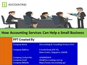 How Accounting Services Can Help a Small Business