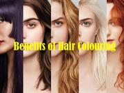 Benefits of Hair Colouring