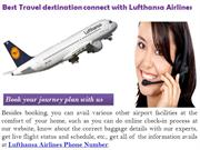 Lufthansa-Airlines Phone Number
