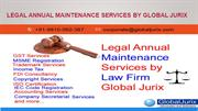 Legal Annual Maintenance Services by Global Jurix