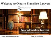 Franchise Agreement, Commercial Lawyers