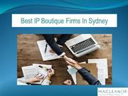 Best IP Boutique Firms In Sydney | Intellectual Property law Firm