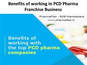 Why you should invest in PCD Pharma Franchise Business