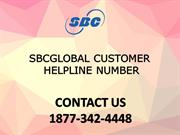 Sbcglobal Customer Helpline Number  ☎ 1877-342-4448